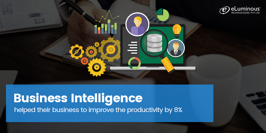 How Business Intelligence helped their business to improve the productivity by 8%?