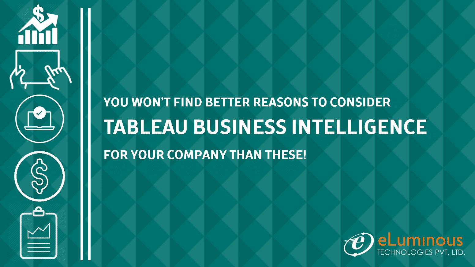tableau business intelligence
