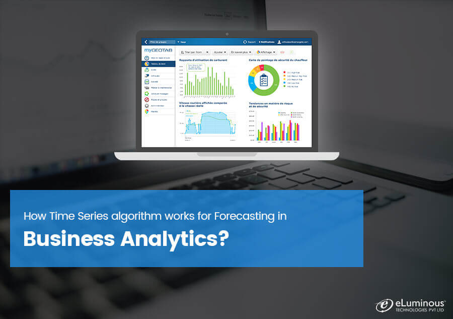 How Time Series algorithm works for Forecasting in Business Analytics?
