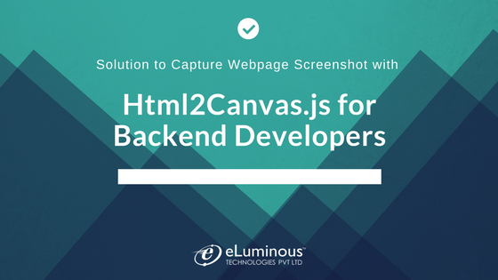Solution to Capture Webpage Screenshot with Html2Canvas.js for Backend Developers