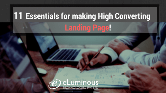 essentials for landing page
