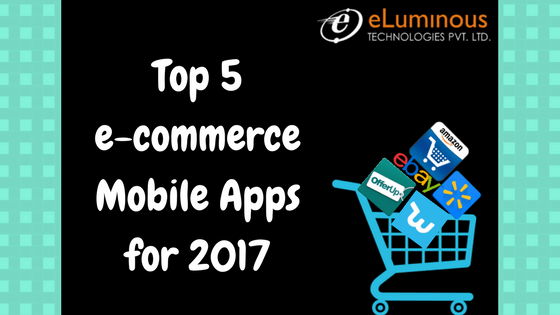 top 5 e-commerce mobile apps