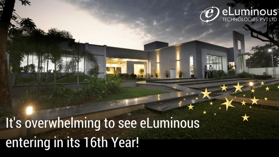 It's overwhelming to see eLuminous entering in its 16th Year!