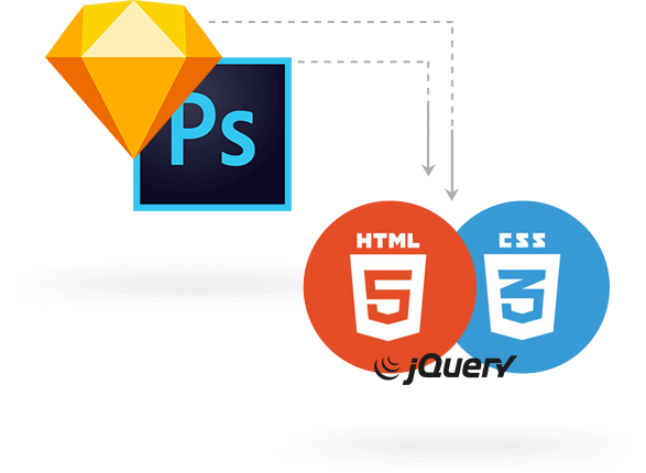 Convert Your Psd To Html Psd To Cms Psd To Email